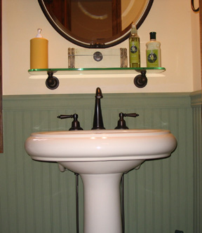 Kohler Revival Pedestal Sink With Oil Rubbed Bronze Faucet